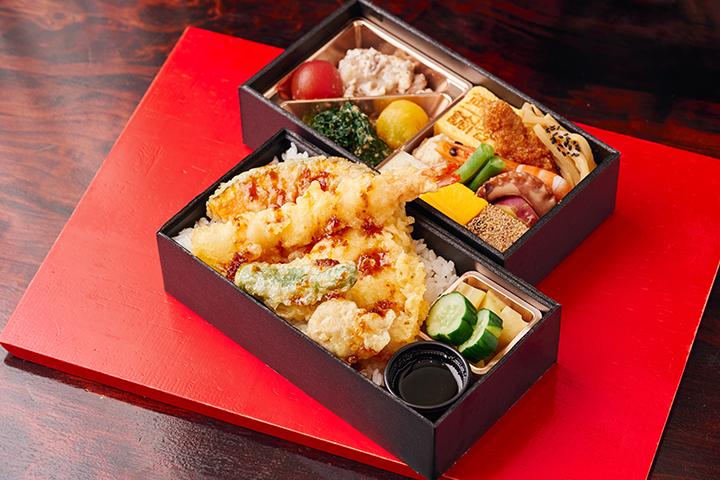 賛否両論の和ドカ弁いろいろ天ぷらご飯